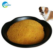 Um grau e frango usam farinha de glúten de milho com embalagens a granel