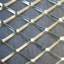Powder Coated Flattened Expandable Diamond Sheet Metal Mesh