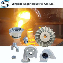 CF8M precision casting stainless steel pump parts