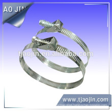 high quality German type American tyle 44.5-470mm stainless steel quick release hose clamp