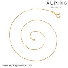 42638 (demi douzaine) -Xuping Haute Qualité Bijoux Longue Chaîne Collier