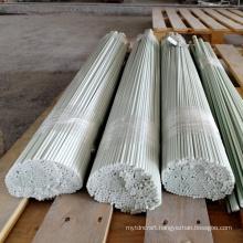 Glass fiber natural color high strength rods flexible round sticks