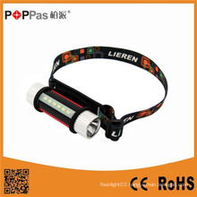 Poppas S150 3W 130lm Multi-Function XP-E R2/6PCS SMD LED Headlamp
