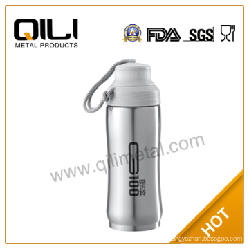 stainless steel china water bottle with string