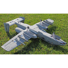 Foam Material Electric RC Airplane with 2*2100kv Brushless Motor