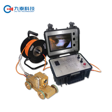 Pan Tilt Pipe Inspectie Camera Robot