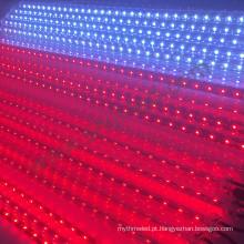 A estrela de queda dmx 3d rgb do clube de barra conduziu o tubo conduzido vertical do controle de som da luz de meteoro