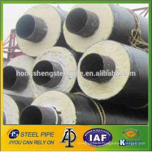 """Tuyau d'isolement 26 """"et tubes anti-corrosion 3PE ERW revêtus d'acier api5l lsaw"""