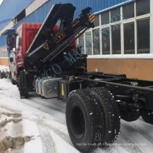Guindaste montado em caminhão com capacidade de elevação de 5 toneladas