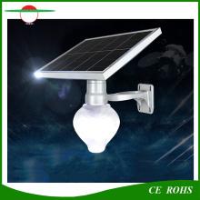 Горячее сбывание дешевое цена 6W все в одном солнечном свете света персика Apple Shape Garden Street Light с ламповым полюсом Дополнительно