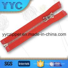 Y Teeth C/E Coat Metal Zipper with OEM ODM Welcomed