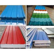 Элегантные красочные трапециевидные глазированные стальные панели из нержавеющей стали
