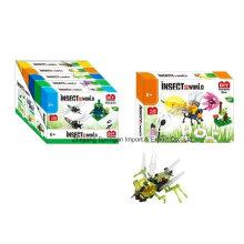 Brinquedo do bloco de edifício do boutique para DIY Insect World-Bee