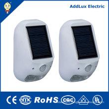 Lampe solaire extérieure chaude blanche de 1W SMD LED