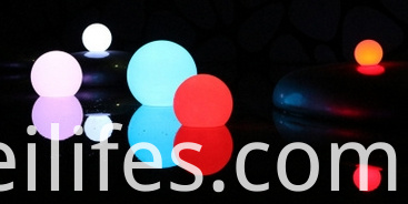 16 colors LED light ball