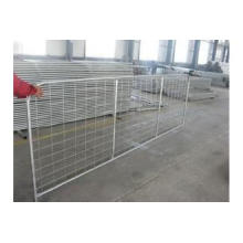 Galvanized Welded Wire Mesh Farm Gates