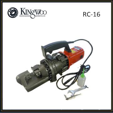 Coupeur manuel de barre d'acier / coupeur de rebar électrique hydraulique portatif de RC-16