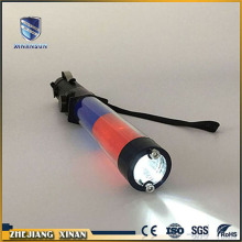 electric traffic control light up led shock baton