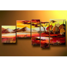 Stretched Canvas Landscape Oil Painting