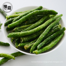 Fornecimento de fabricante gosto saboroso ervilha verde chips atacado