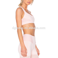 Rosa quente venda yoga esporte roupas sutiã e yoga calças conjuntos para mulheres