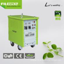 Gás / nenhum gás AC Transformador MIG soldador para amplamente uso (NBC-200B / 250B / 270B / 350B)