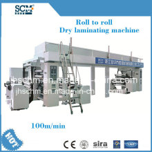 PVDC / PVC / alumínio Foil Coating Machine