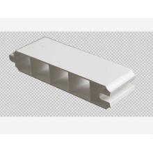 PVC-Türprofil weißes Farbdesign