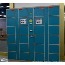 Powder Coating Barcode Gym Electronic Lockers