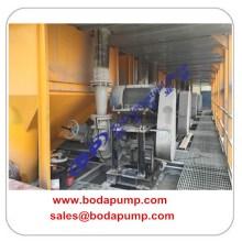 Équipement de pompage de boue à haute pression d'extraction de l'or
