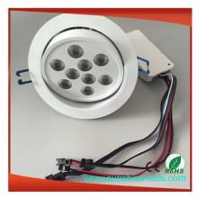 Dimmable RGBW / RGB LED Einbauleuchte