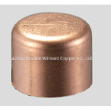 Wrot Tube Cap Copper Fitting for Refrigeration