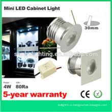 Дунгуань дешевые 6 * 4W светодиодный кухонный шкаф света привело мини месте свет в Китае