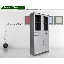 Modern customized office 2 drawer steel swing door thin file cabinet