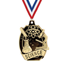 Crown's Science 3D Medal Grande per l'educazione