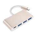 Usb-C Hub 4 In 1 With Fast Charging