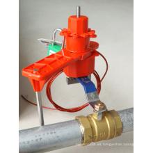 Elecpopular Productos Nuevos Bloqueo de válvula universal de un solo brazo con cable de nylon