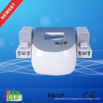 Pérdida de peso de la lipólisis fría del lipolaser 336 que adelgaza la máquina / 12 almohadillas del laser