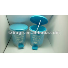 daily use Plastic Dustbin mould/trash can mould