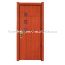 Estilo interno das portas do quarto do MDF da melamina eco-friendly