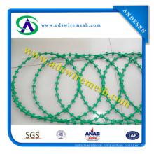 Concertina Razor Barbed Wire/Razor Blade Barbed Wire
