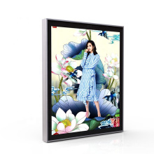 For Sale Cinematic Suspend Slim Double-Sided Magnetic Type Led Light Box Sign