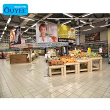Modern Kitchenware Store Fixtures Supermarket Shelves Gondola Supermarket Shelf Advertising