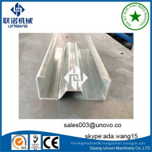 storage rack steel sigma profile roll forming equipment