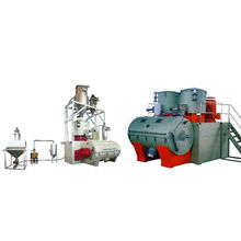 FT Horizontal automatic mixing machine for plastic industry