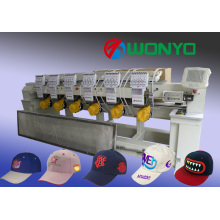 Cap Computerized Embroidery Machine for Tubular / T-Shirt / Finished Garment Embroidery