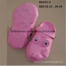 Venda quente moda sapatos de jardim eva para crianças (fbj521-4)