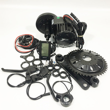 bafang bbs02 48v 500W mid drive central motor kit with C961 display