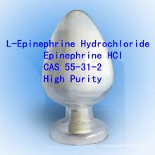 Épinephrine Hci haute pureté L-épinéphrine chlorhydrate CAS 55-31-2 Non-Steroidal Pharma API
