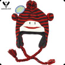 Sombrero lindo del animal lindo de los niños del invierno